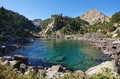 Gerber lake in aigüestortes national park catalonia spain Royalty Free Stock Image