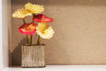 Gerbera Flower in vase Royalty Free Stock Photo