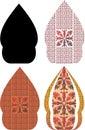 Gergunung is the javanese design for wayang kulit