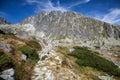 Gerlachovsky peak in High Tatras, Slovakia