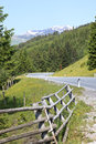Gerlos pass, a toll road in Austria Royalty Free Stock Photo