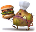 Germ chef Royalty Free Stock Images