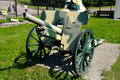 German 75 mm field gun FK 16 n.A. model 1930 Stock Photography