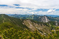 German alps mountain landscape in the Royalty Free Stock Images