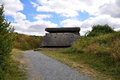 German artillery battery near saint marcouf département manche northwest of utah beach infantry shelter Royalty Free Stock Photo