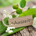 German: Auszeit! Stock Photos