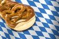 German Bavarian Oktoberfest pretzel Stock Images
