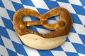 German Bavarian Oktoberfest pretzel Royalty Free Stock Photo