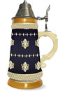 German beer stein traditional mug Stock Photos