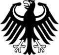 German coat of arms Stock Photography