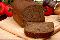 German Dark Wheat Bread Stock Image