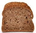 German Dark Wheat Bread Stock Photography