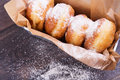 German donuts - berliner Royalty Free Stock Photo
