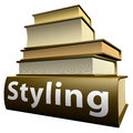 German education books - design Royalty Free Stock Photos