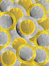 German Euro Coins Stock Images
