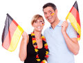 German fan Royalty Free Stock Photo