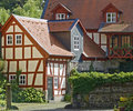 German farm houses Stock Image