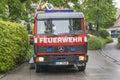 German Fire Engine