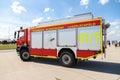 German fire service truck