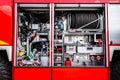 German fire truck equipment