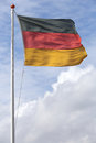German flag Royalty Free Stock Photo