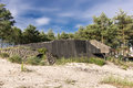 German fortifications Royalty Free Stock Photo