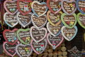 German Gingerbread Hearts Royalty Free Stock Images