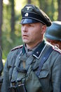 German officer Stock Image