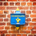 German old traditional mailbox, Bremen Royalty Free Stock Photo