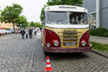 German passenger bus ifa h b berlin may oldtimer tage berlin brandenburg may berlin germany Royalty Free Stock Image