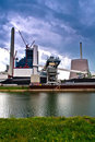 German Power Plant Royalty Free Stock Photography