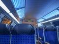 German regional train dresden germany june interior in saxony germany europe Royalty Free Stock Photos