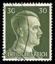 German Reich Postage Stamp from 1945 Royalty Free Stock Photo