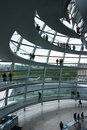 German Reichstag Dome Royalty Free Stock Photography