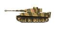German tank tiger panzerkampfwagen vi Stock Photography