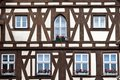 German timber framing Stock Images