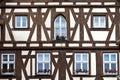 German timber framing Stock Images