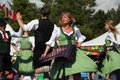 German traditional dancers Royalty Free Stock Photo