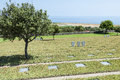 German war cemetary maleme overlooking the airstrip where paratroopers landed during world ii crete greece europe Stock Images