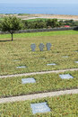 German war cemetary maleme overlooking the airstrip where paratroopers landed during world ii crete greece europe Royalty Free Stock Images