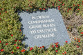 German war grave maleme anonymous at where paratroopers landed during world ii crete greece europe Stock Photos