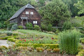 German Wood House Frutillar Chile Stock Image