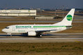 Germania Boeing 737 Royalty Free Stock Photo