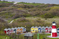 Germany helgoland cottages and bungalows an oasis of tranquility and a unique natural monument europe travel destination Stock Photography