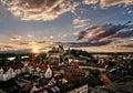 Germany Münster Deutschland Frühling Landscape City Stadt Rhein Breisach am Rhein Royalty Free Stock Photo