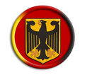 Germany olympics shield Royaltyfria Foton