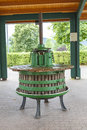 Germany wine press old grape in rhineland near the moselle river Royalty Free Stock Photos