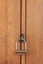 Gesloten houten voorwerp Stock Foto
