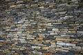Gestapelte Steinwand Lizenzfreies Stockfoto
