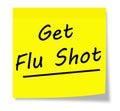 Get Flu Shot Royalty Free Stock Photo